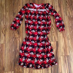 Girls Disney Minni Mouse night gown
